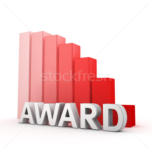 Reduction of Award Stock photo © timbrk