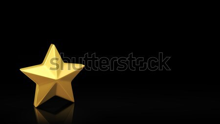 Star black slide Stock photo © timbrk