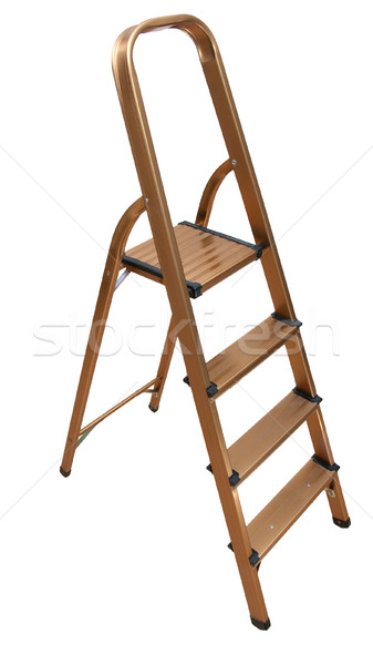 Stepladder isolated Stock photo © timbrk