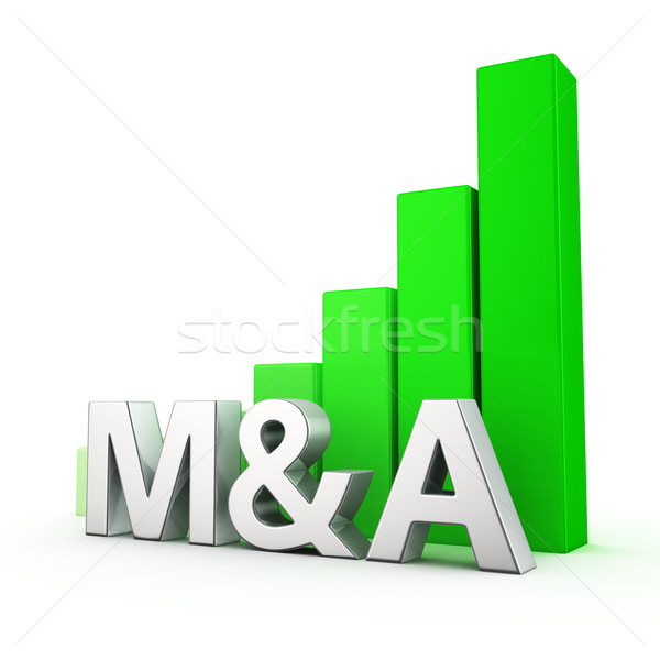 Growth of M&A Stock photo © timbrk