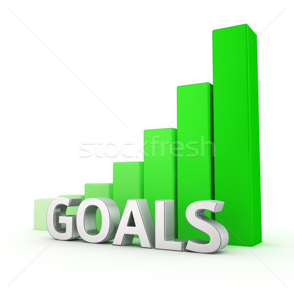 Growth of Goals Stock photo © timbrk