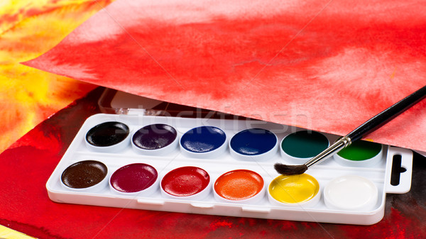 Paintbox Stock photo © timbrk