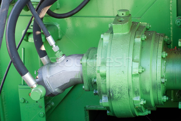 マシン 油圧 新しい 道路 車 ストックフォト © timbrk