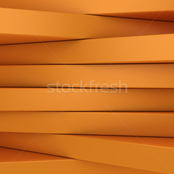 Orange panels Stock photo © timbrk