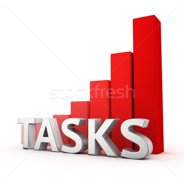 Growth of Tasks Stock photo © timbrk