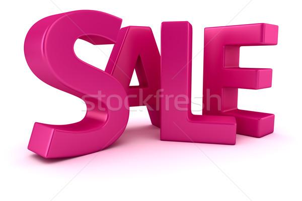 продажи слово написанный пурпурный письма знак Сток-фото © timbrk
