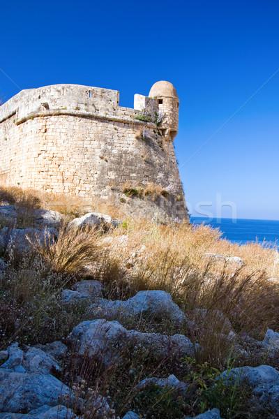 Velencei fal tenger kő építészet történelem Stock fotó © timbrk
