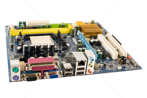 Isolated Mainboard Stock photo © timbrk
