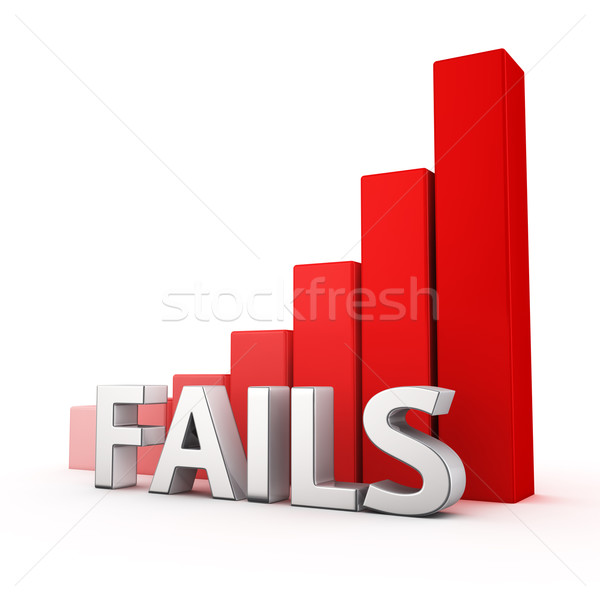 Growth of Fails Stock photo © timbrk