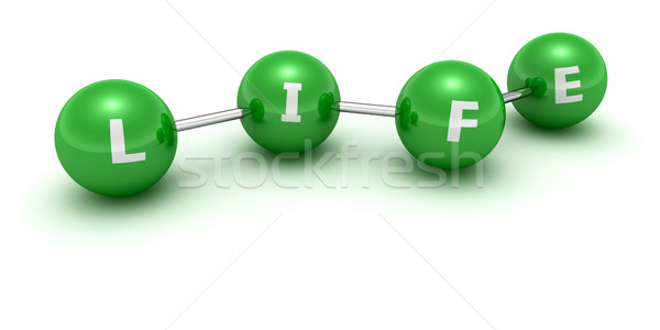 生活 チェーン 緑 言葉 コンピュータ ストックフォト © timbrk