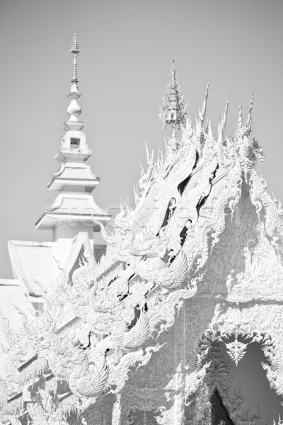 Beautiful White temple Stock photo © timbrk