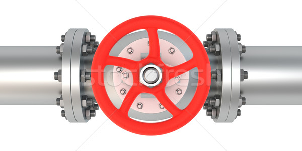 Top view valve Stock photo © timbrk