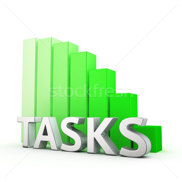 Reduction of Tasks Stock photo © timbrk