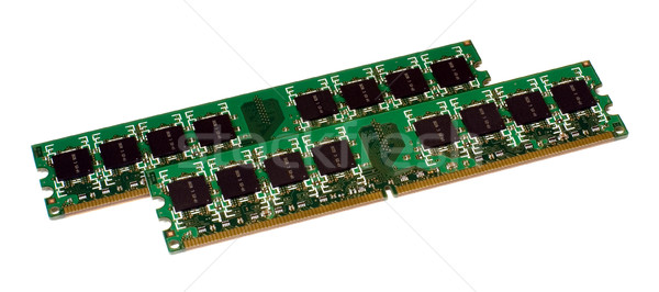 Two modules of the memory Stock photo © timbrk