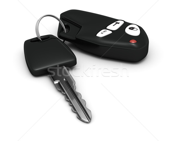 Car key and remote Stock photo © timbrk