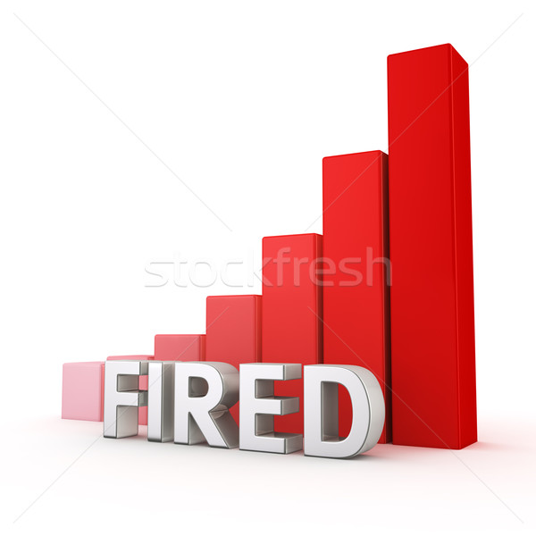 Stock photo: Growth of Fired