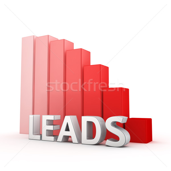 Stock photo: Reduction of Leads