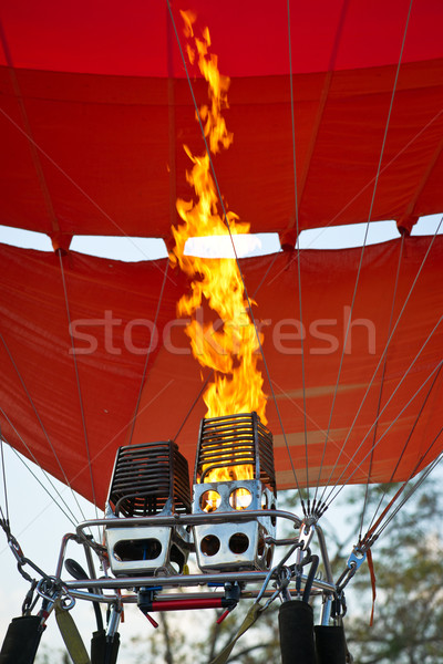 Aerostat starting Stock photo © timbrk