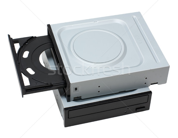 Two dvd drives Stock photo © timbrk