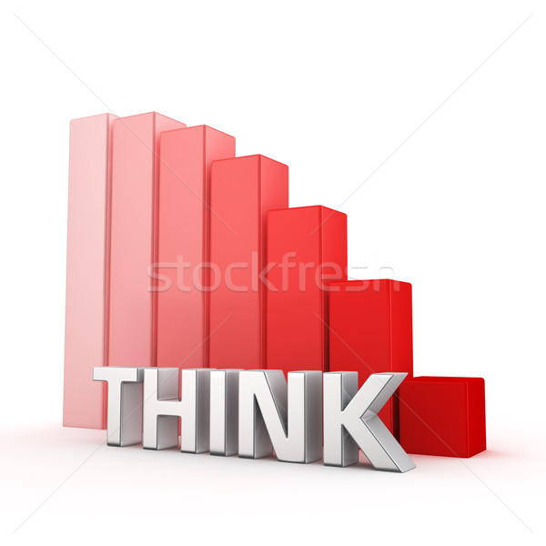 Stock photo: Reduction of Think