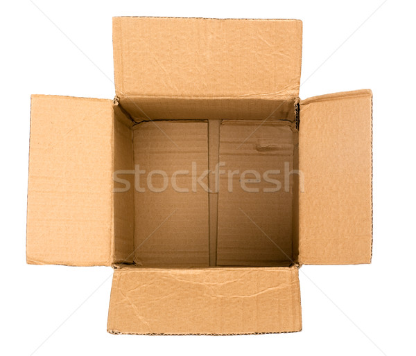 Empty box Stock photo © timbrk