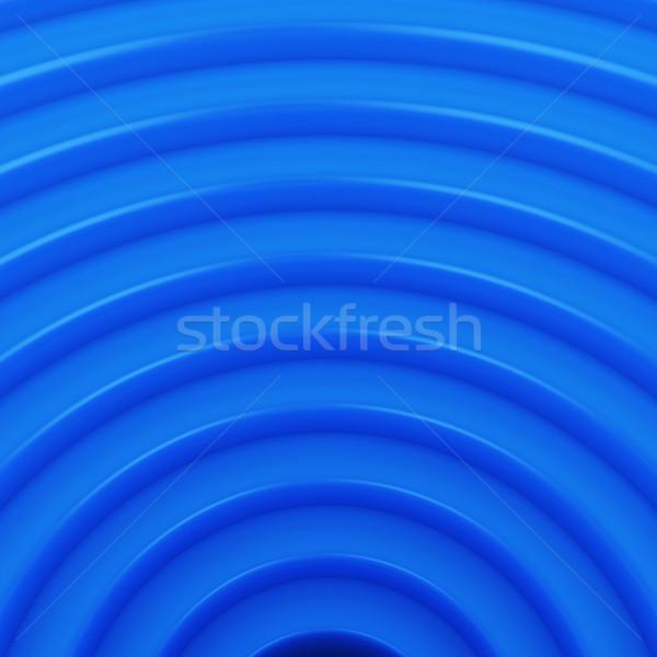 синий дизайна геометрический шаблон цвета круга Сток-фото © timbrk