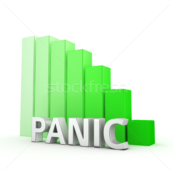 Stock photo: Reduction of Panic