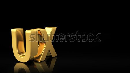 UX black slide Stock photo © timbrk