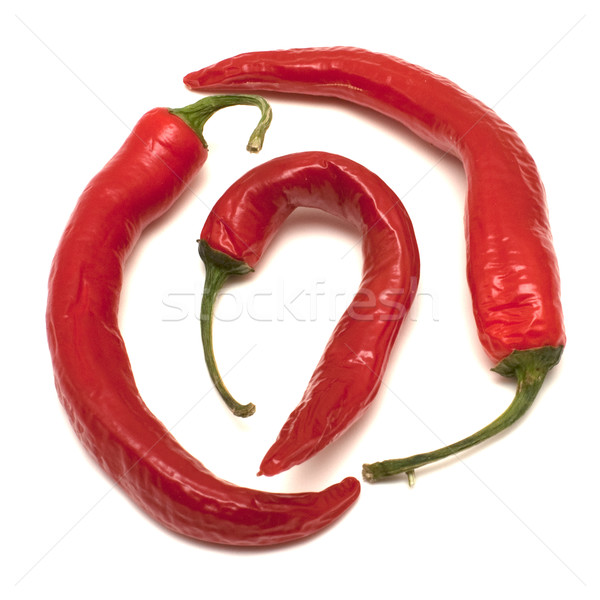 Three peppers Stock photo © timbrk