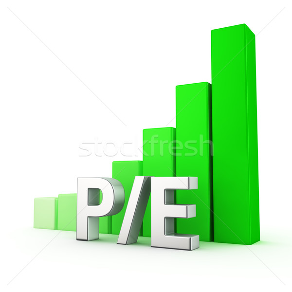 Growth of P/E Stock photo © timbrk