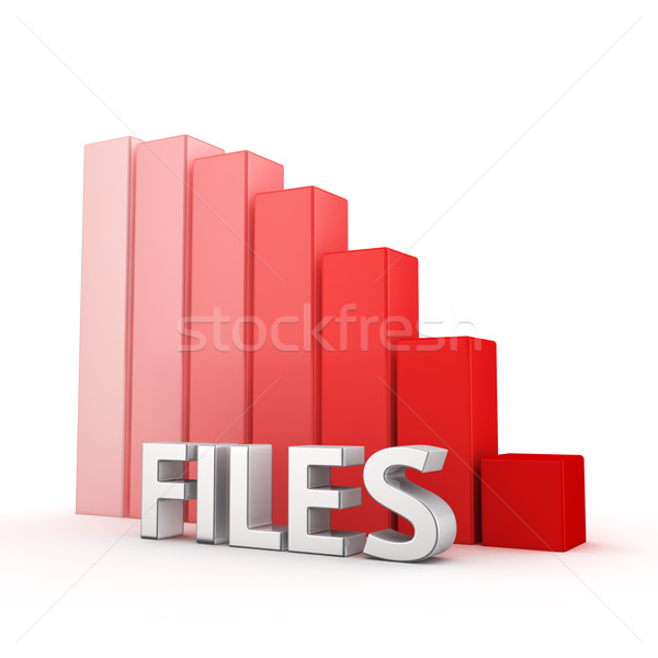 Reduction of Files Stock photo © timbrk