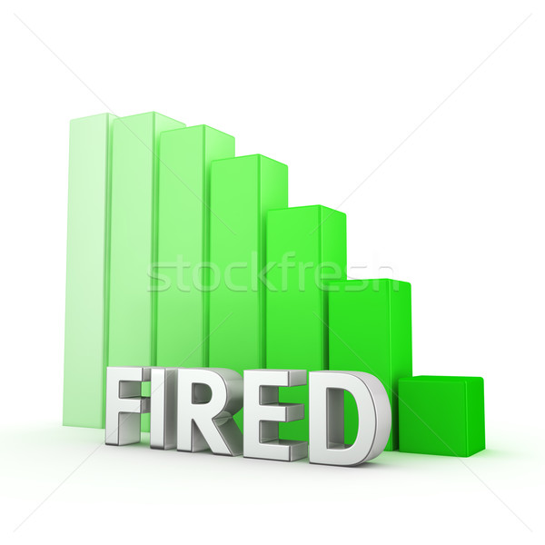 Reduction of Fired Stock photo © timbrk