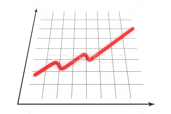 Growth curve Stock photo © timbrk