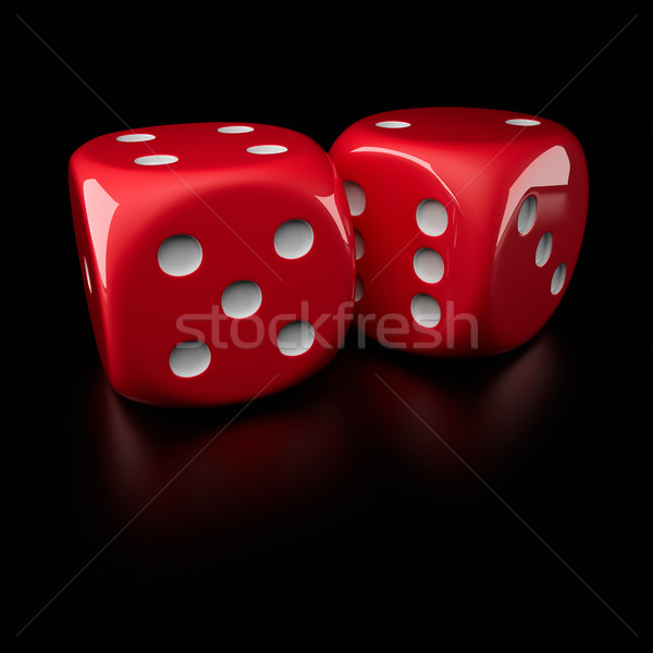 Dice Stock photo © timbrk