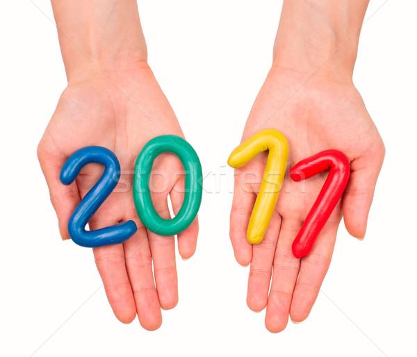2011 anno mani capodanno sfondo Foto d'archivio © timbrk