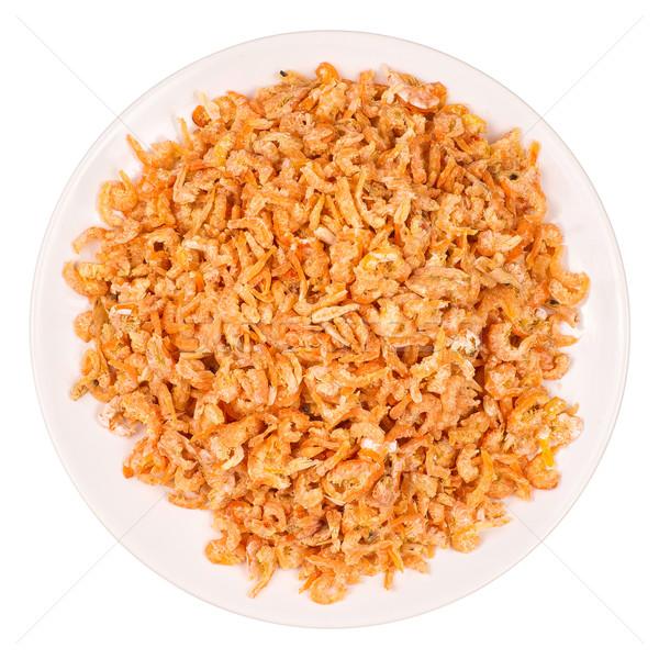 сушат куча белый пластина азиатских еды Сток-фото © timbrk