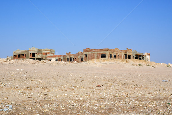 Uncompleted Resort Building Stock photo © timbrk