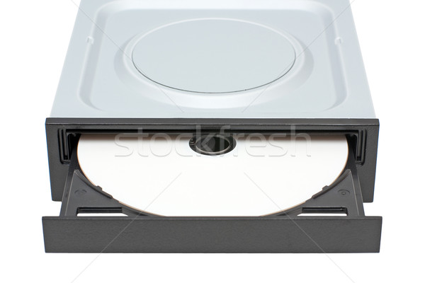 DVD-ROM drive with disk Stock photo © timbrk