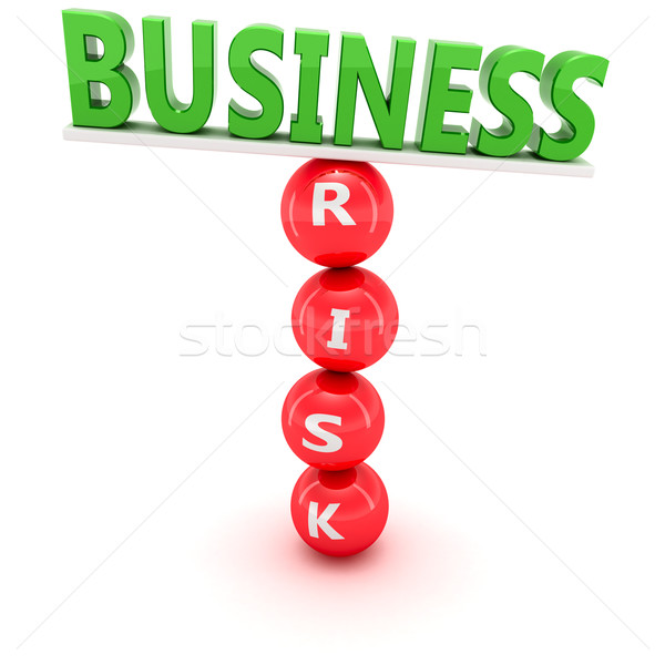 Risky business Stock photo © timbrk