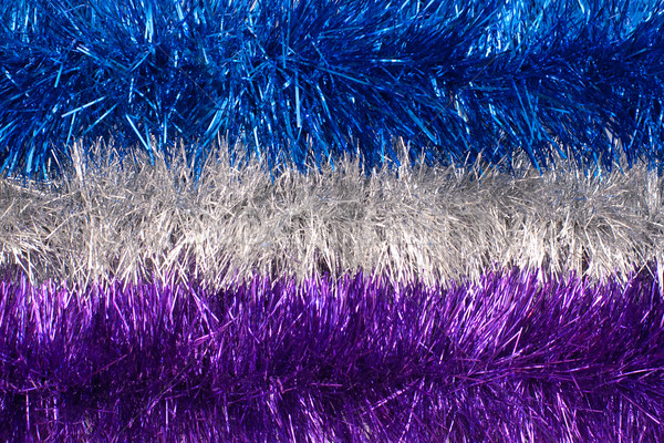 Tinsel background Stock photo © timbrk