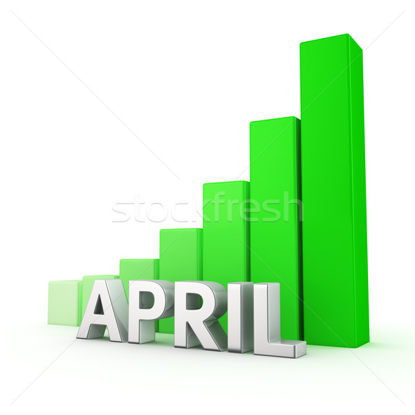 Stock photo: Growth of April