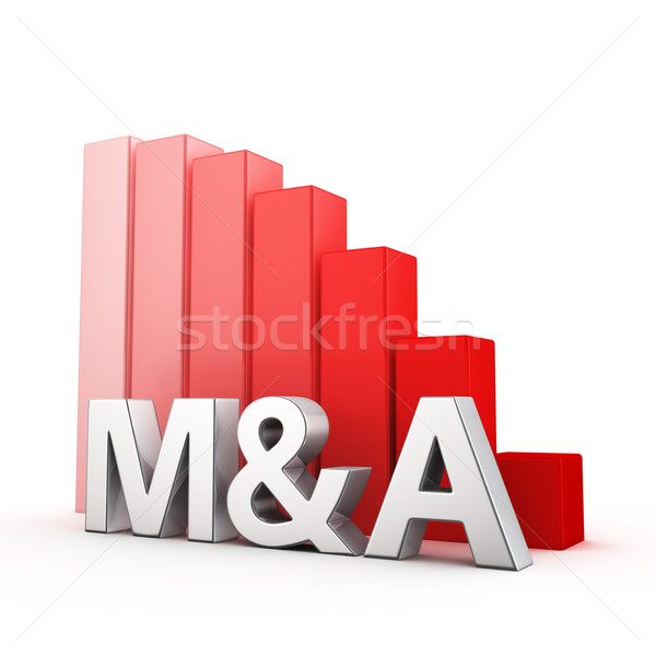 Reduction of M&A Stock photo © timbrk