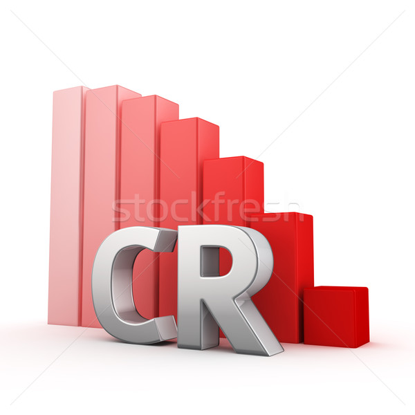 Stock photo: Reduction of CR