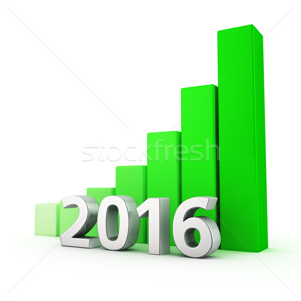 Growth of 2016 Stock photo © timbrk