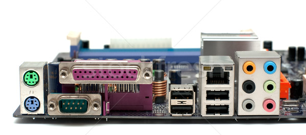 Mainboard back panel Stock photo © timbrk