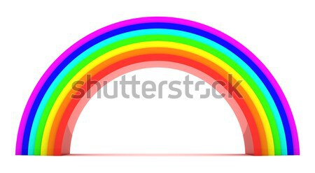 Rainbow Stock photo © timbrk