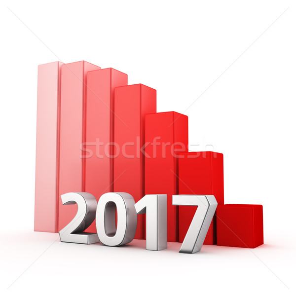Reduction of 2017 Stock photo © timbrk