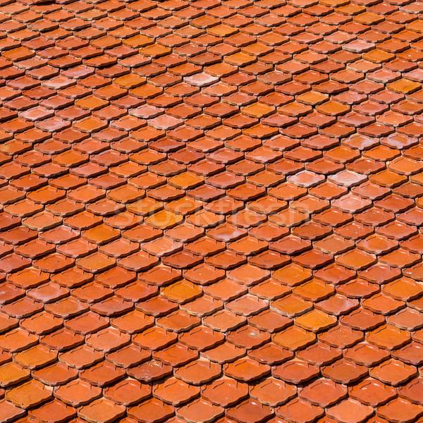 Terracotta tile Stock photo © timbrk