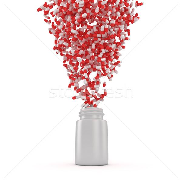 Pills whirlwind Stock photo © timbrk