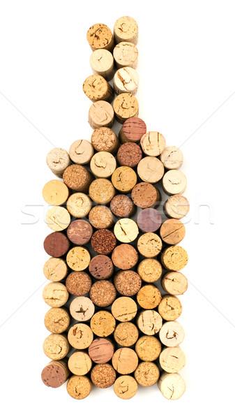 бутылку изображение вино фотография пробка объекты Сток-фото © timbrk